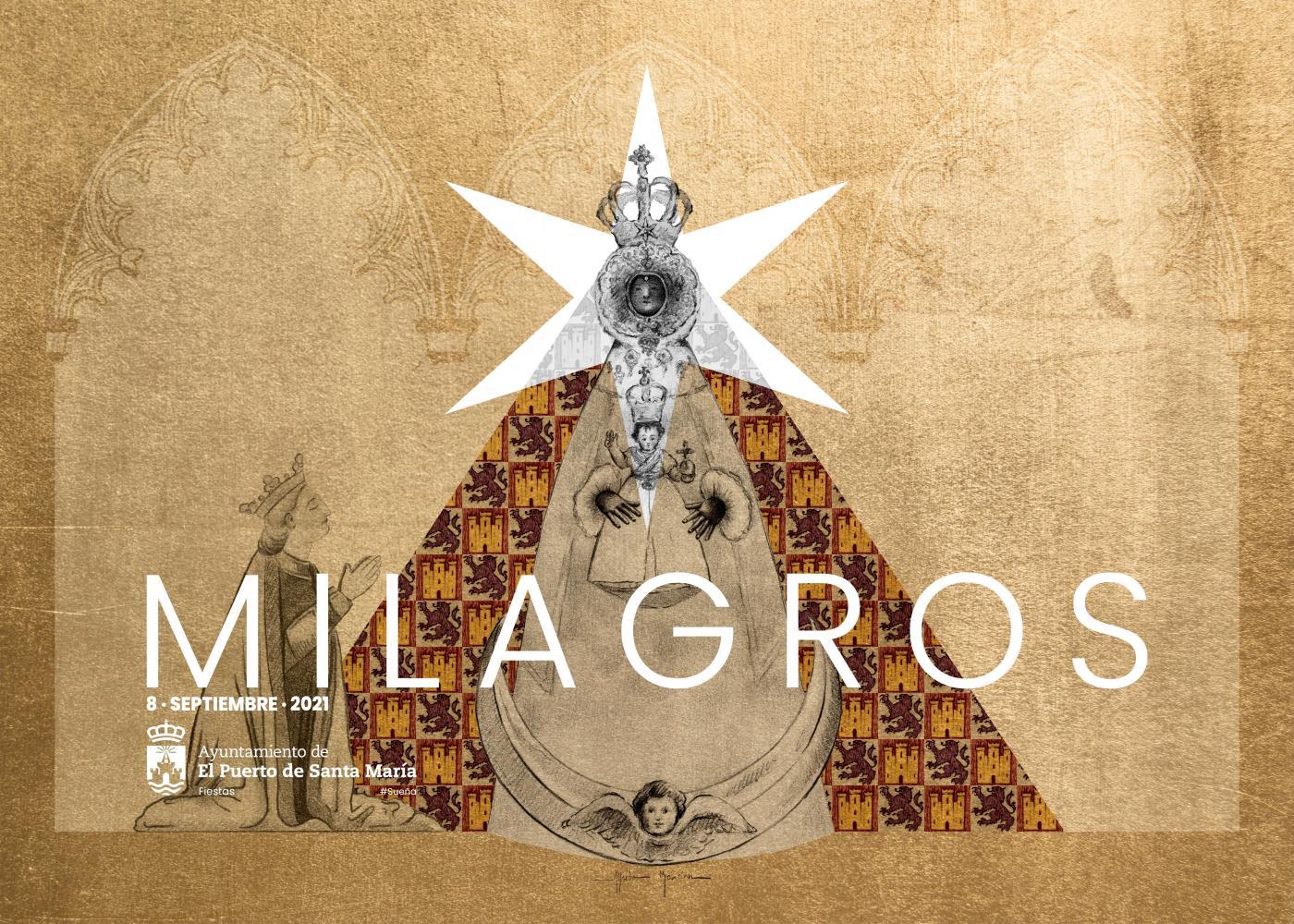 Presentación del cartel de la virgen de los milagros.