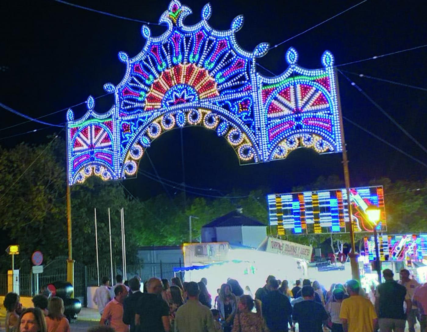 Arcos de la Forntera recupera su Feria de San Miguel tras el año pandémico