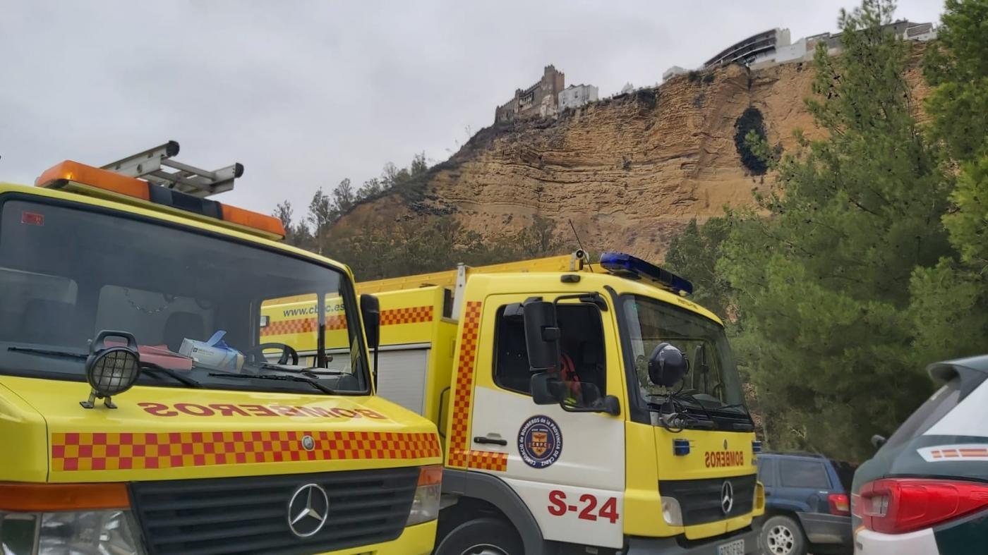 Rescatan el cuerpo de un hombre en la peña de Arcos de la Frontera