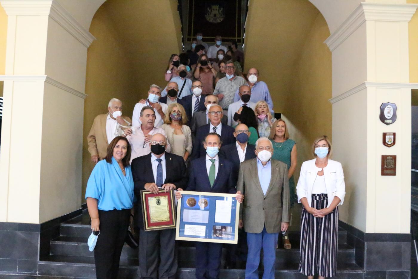 El Ayuntamiento rinde homenaje al chiclanero Diego Pulido Aragón