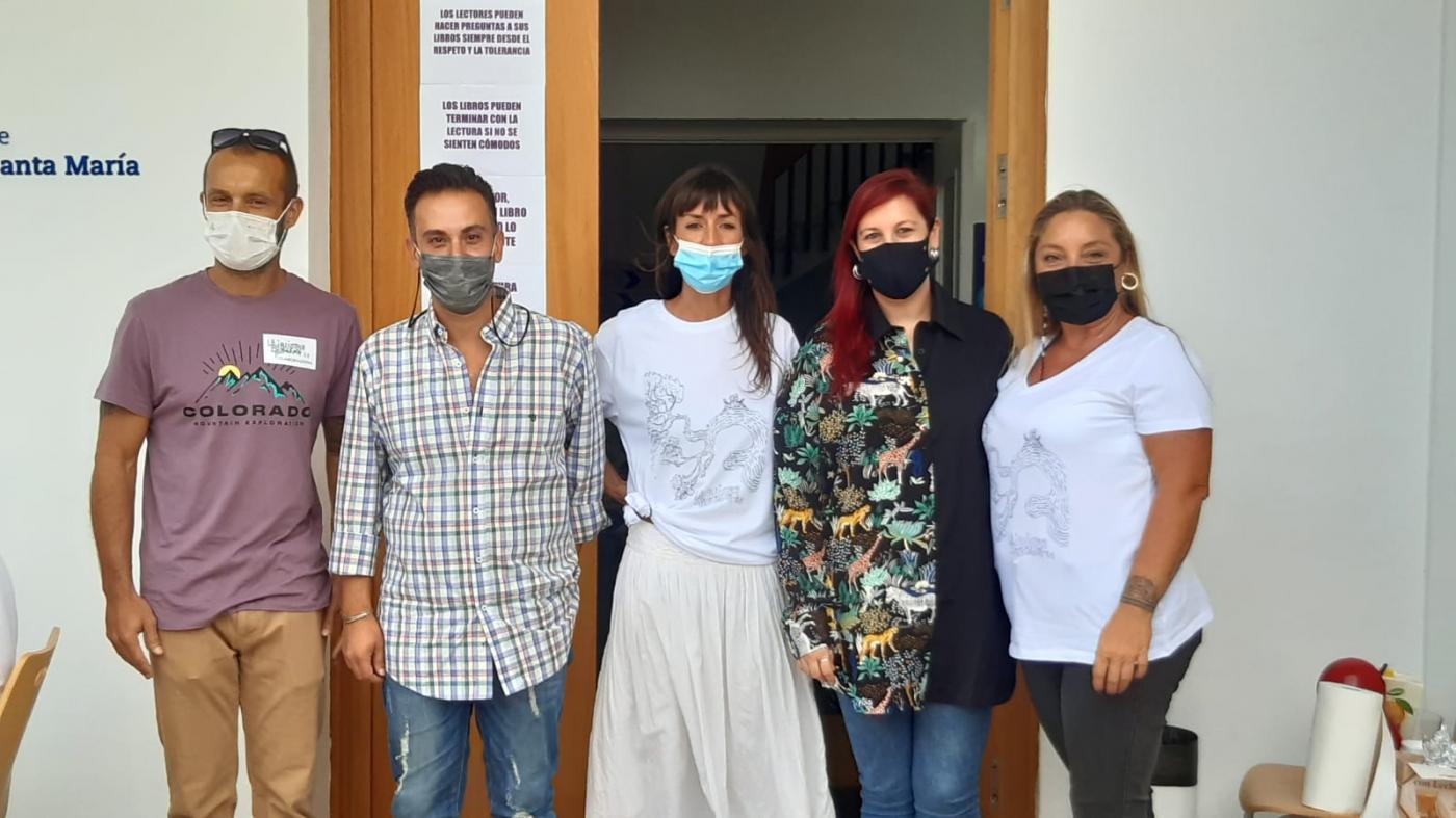 El PSOE de El Puerto felicita a El Hervidero por su 'Biblioteca Humana'