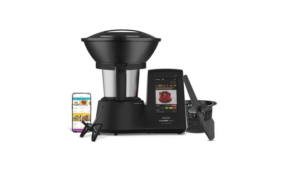 5_Taurus Mycook Touch Black Edition - Robot de Cocina