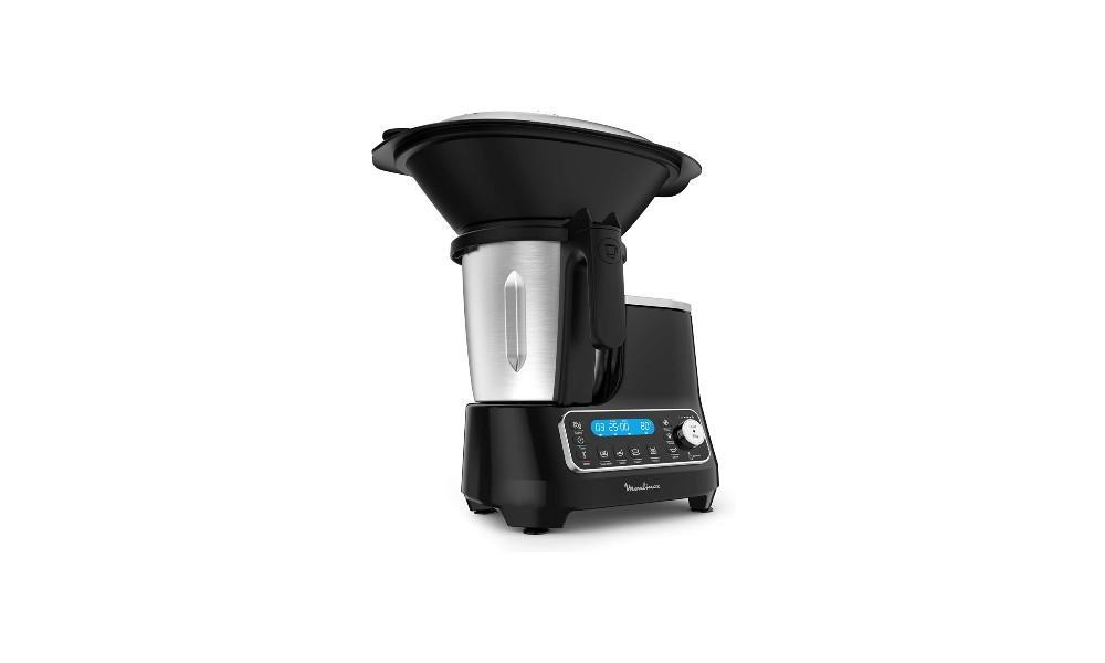 10_Moulinex ClickChef HF4SPR30 - Robot de cocina multifunción