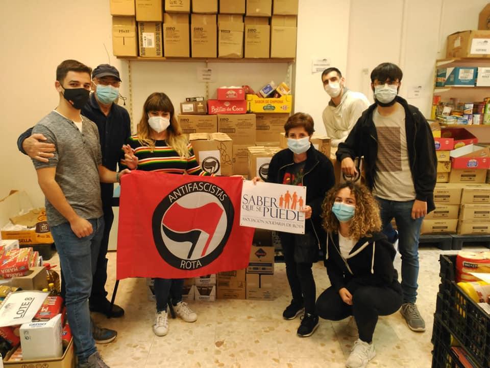 El Colectivo Antifascista de Rota organiza una recogida de alimentos este viernes
