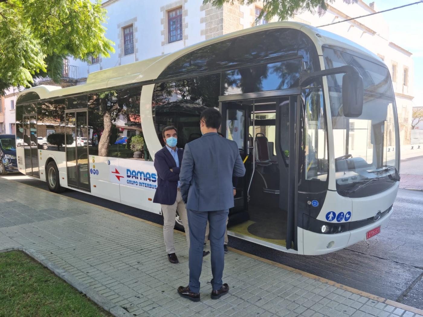 El Puerto trabaja en la transición hacia una flota eléctrica de los autobuses urbanos