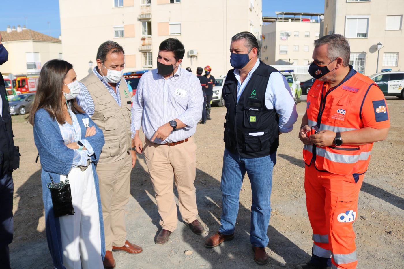 Respuesta 21 termina con un simulacro de inundaciones en la ribera del Guadalquivir