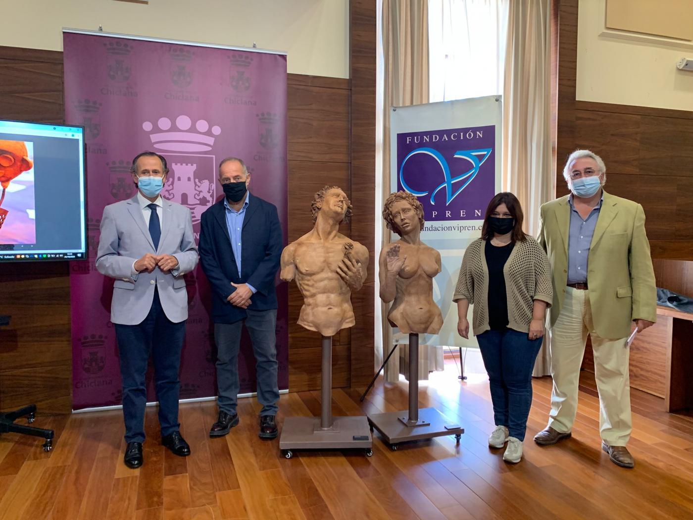 La Fundación Vipren pone en marcha la exposición 'Virtual' obra de Manuel Luna