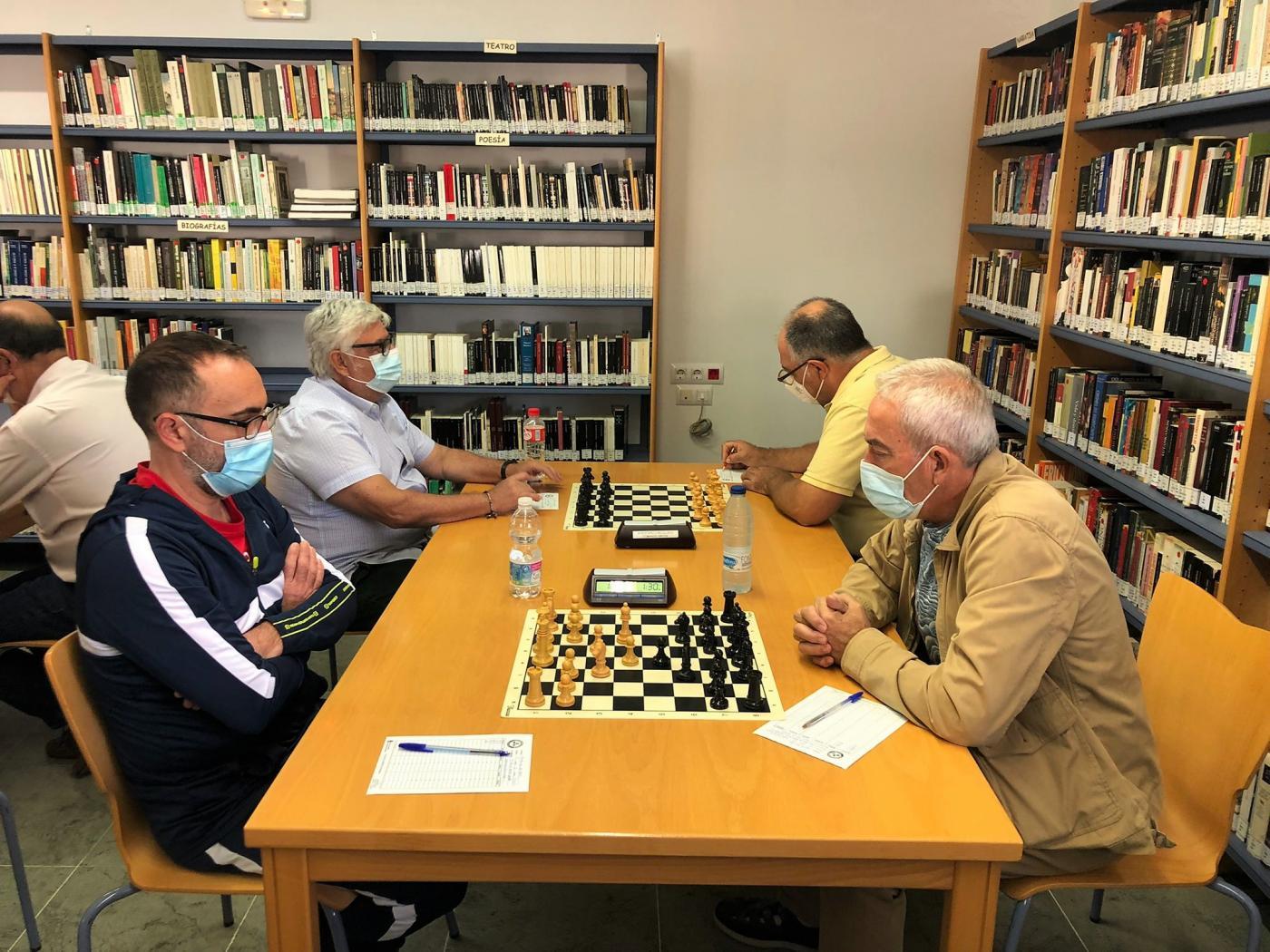Primera victoria del Shahmat 'C' Arcos en la liga provincial de ajedrez