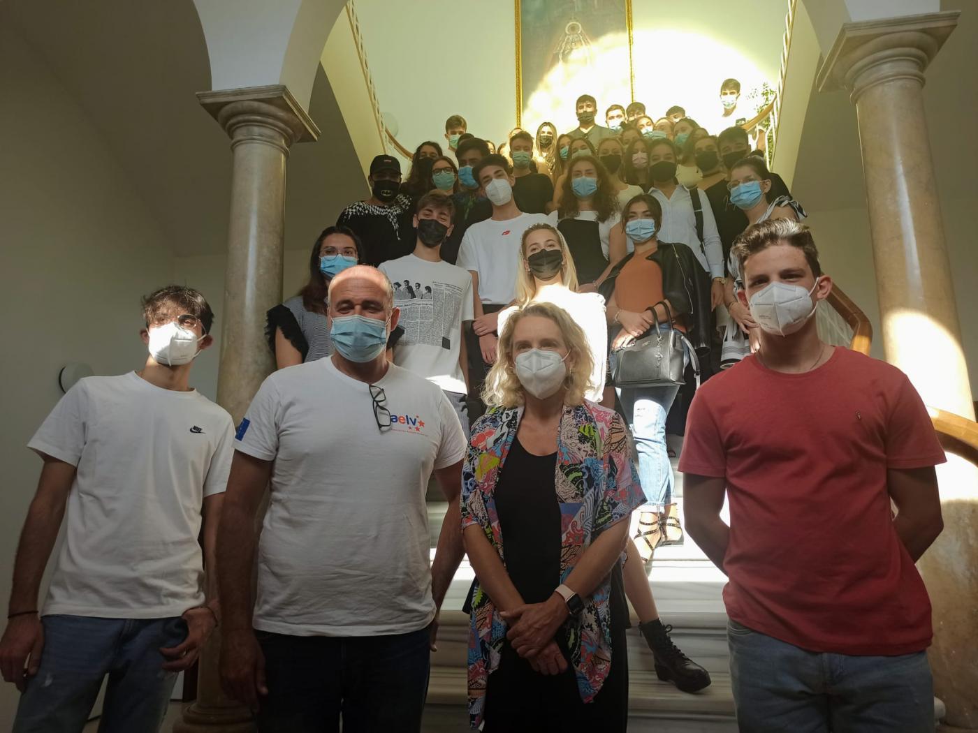 El Puerto recibe a alumnos de Italia que  realizan sus prácticas profesionales