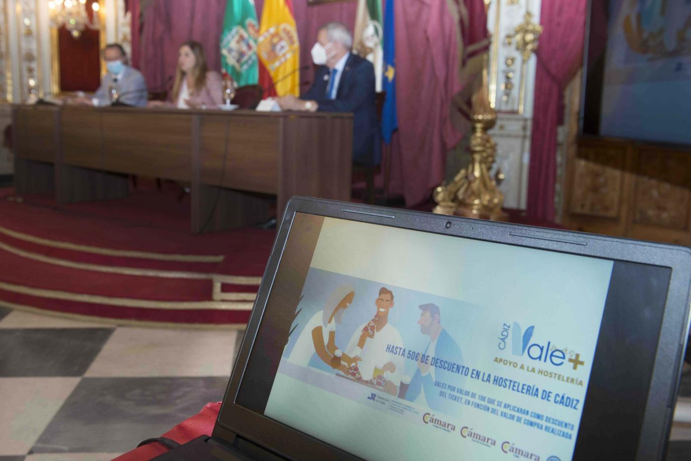 Hasta cinco vales de 10 euros para consumir en la hostelería de la provincia de Cádiz