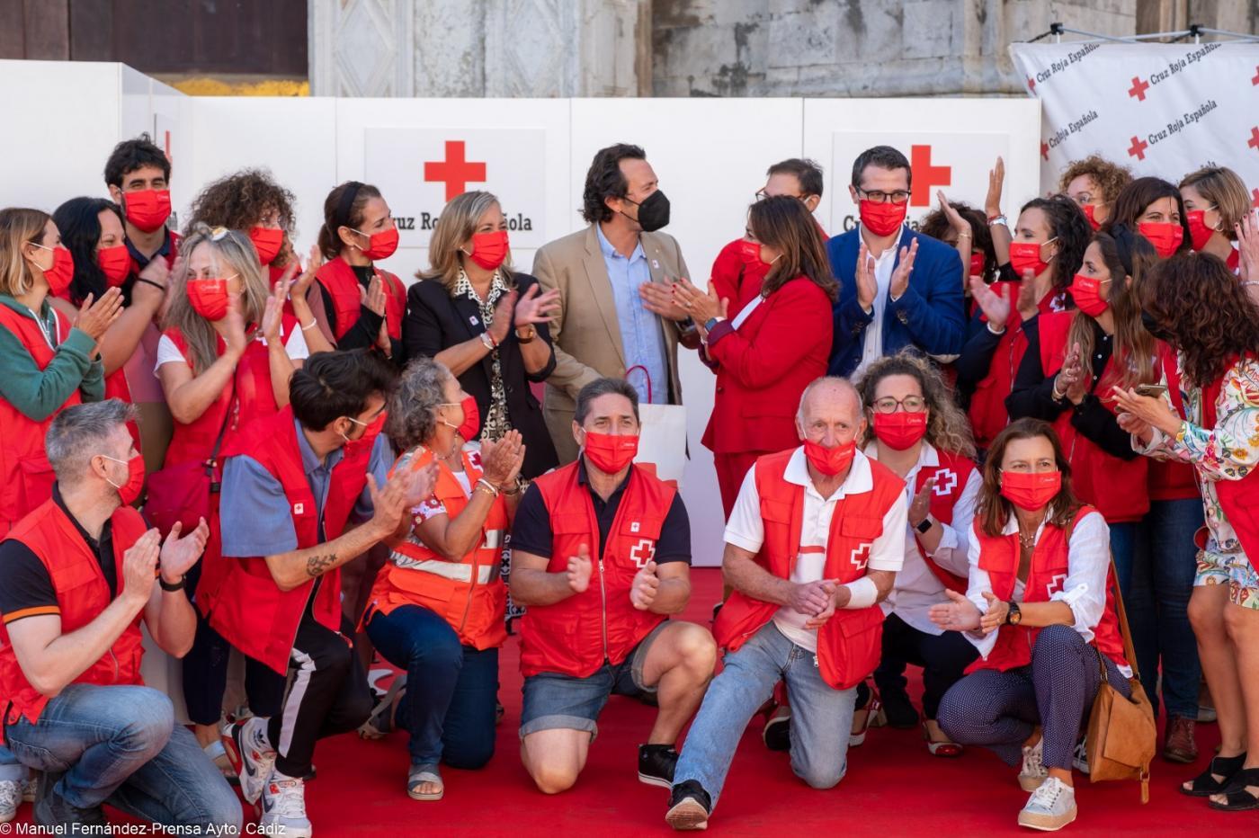 Cruz Roja atendió a más de 102.000 personas de la provincia de Cádiz durante la pandemia