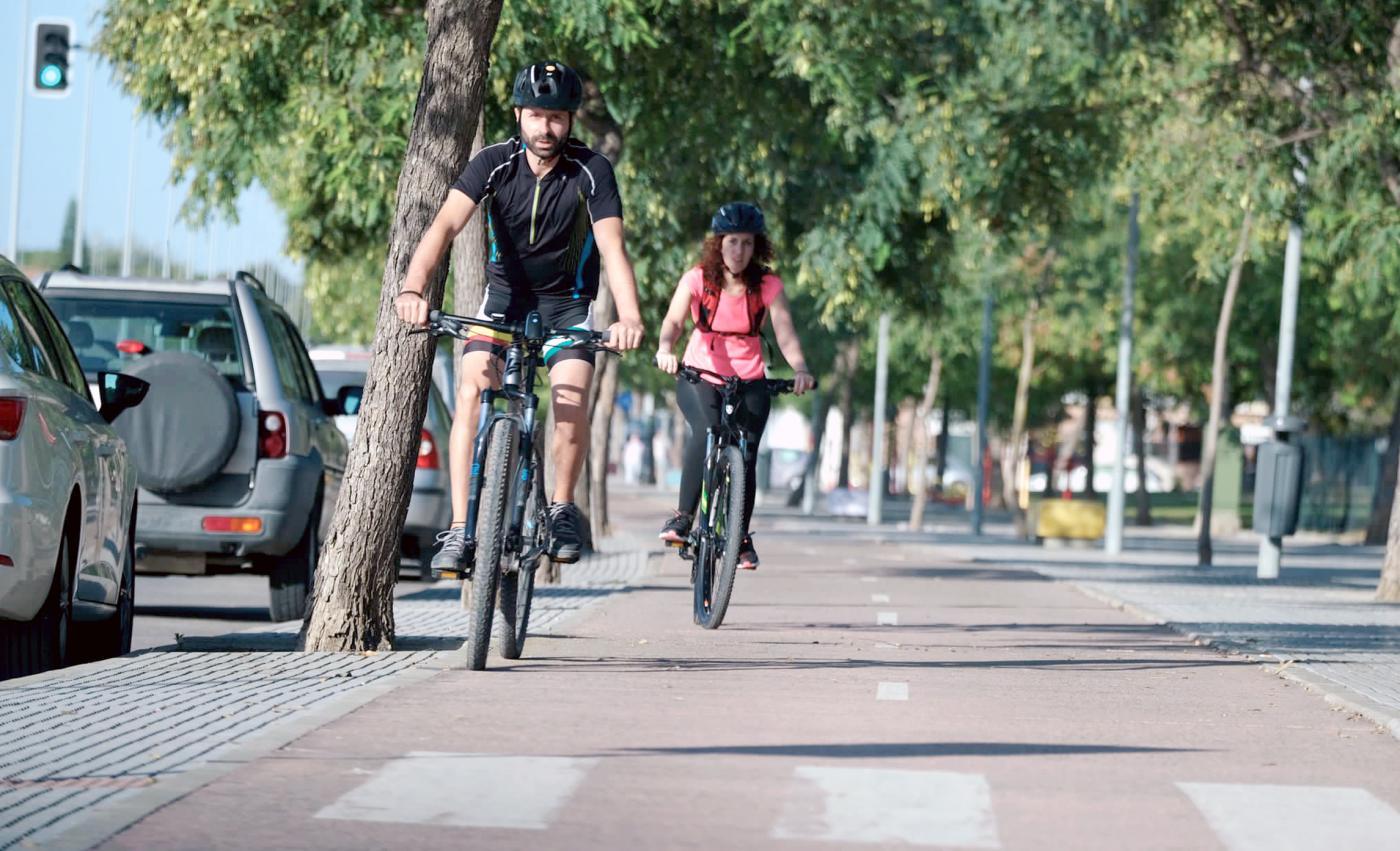 La Junta admite un 'pinchazo' en la previsión de uso del carril bici en Jerez