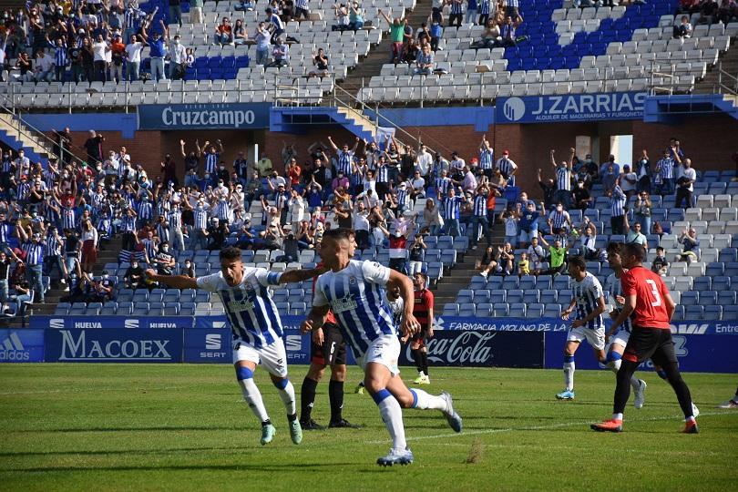 Recreativo de Huelva: victoria y coliderato