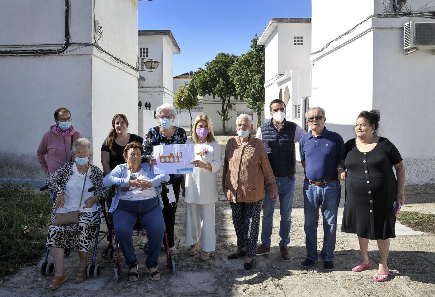 El Ayuntamiento de Jerez anuncia mejoras en el acerado de las 'casitas bajas'