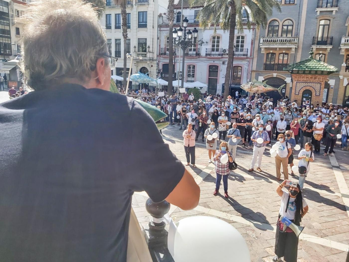 Huelva levanta la voz contra la brecha sanitaria en la provincia