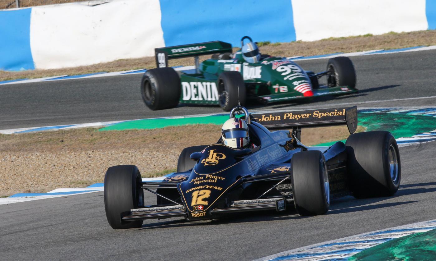 Werner logra la victoria en la carrera Master Historic Formule One