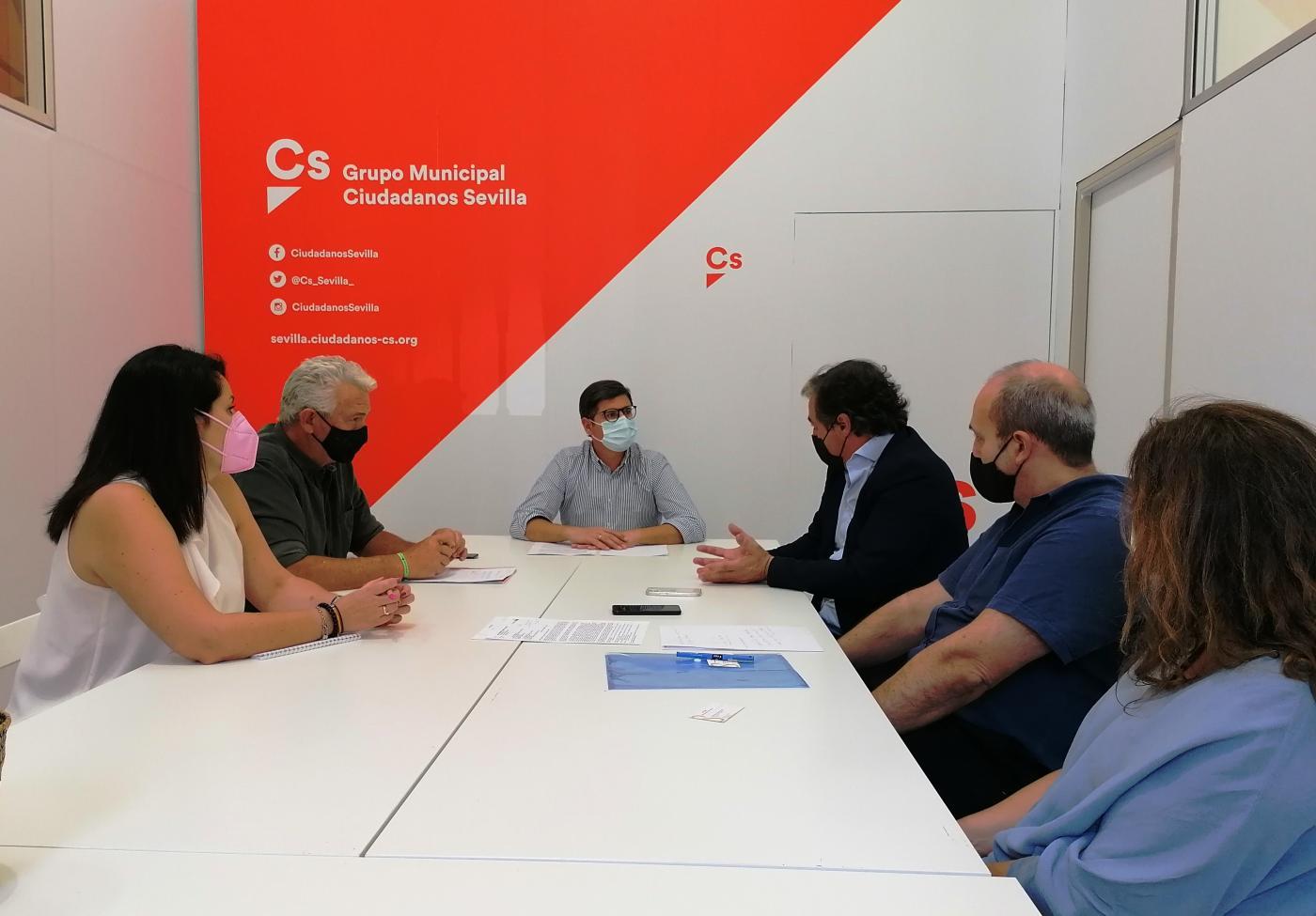 """Cs Sevilla pide """"paralizar"""" el Plan Respira hasta que haya """"alternativas de movilidad"""""""