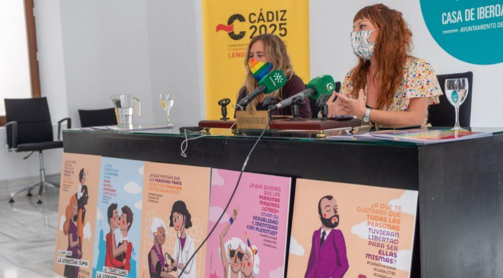 Cádiz lanza una nueva campaña en defensa de los derechos del colectivo LGTBIQ+