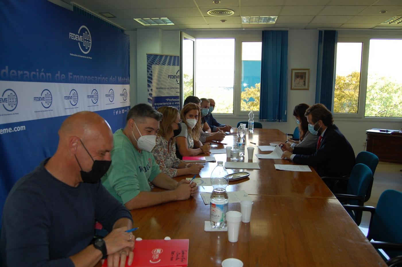 Sindicatos firman un preacuerdo con los pactos para el próximo convenio siderometalúrgico