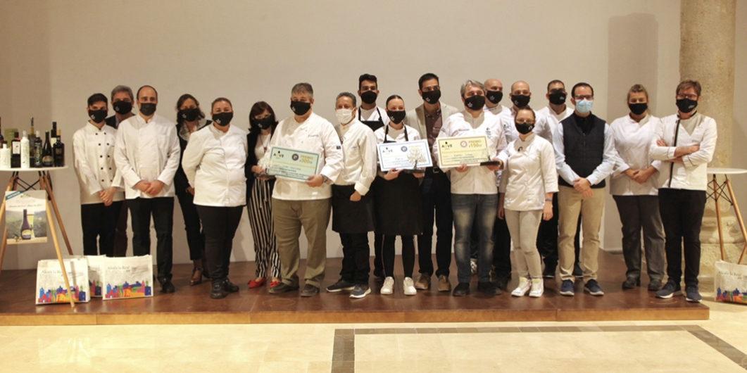 La chef María Medina se corona como vencedora en el II Concurso de Cocina con AOVE