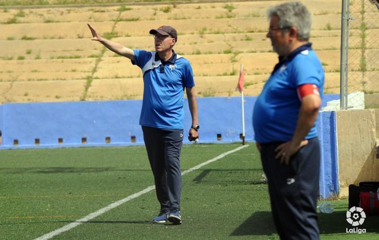 Toledo llega a los 450 partidos en el banquillo del Sporting Huelva