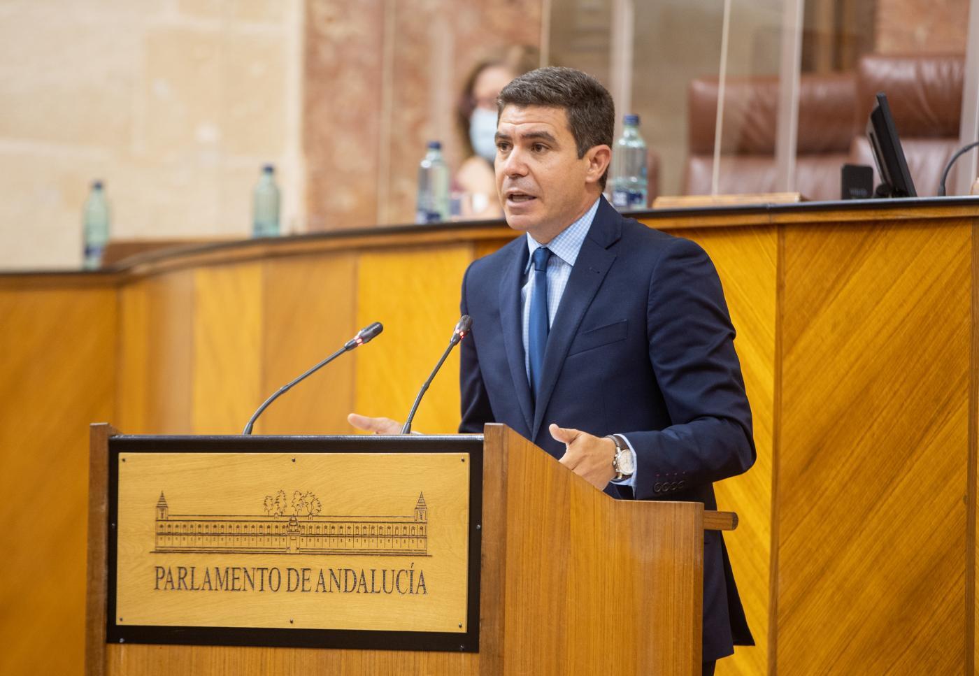 SergioRomero, del Parlamento andaluz a entrenador de fútbol