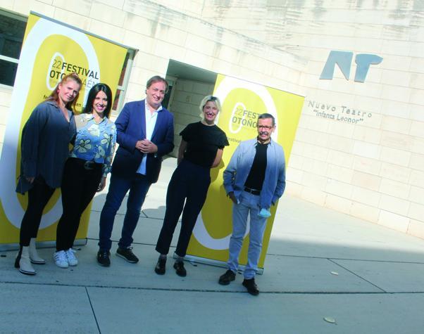 El Festival de Otoño de Jaén suma 3 residencias artísticas del 'Infanta'